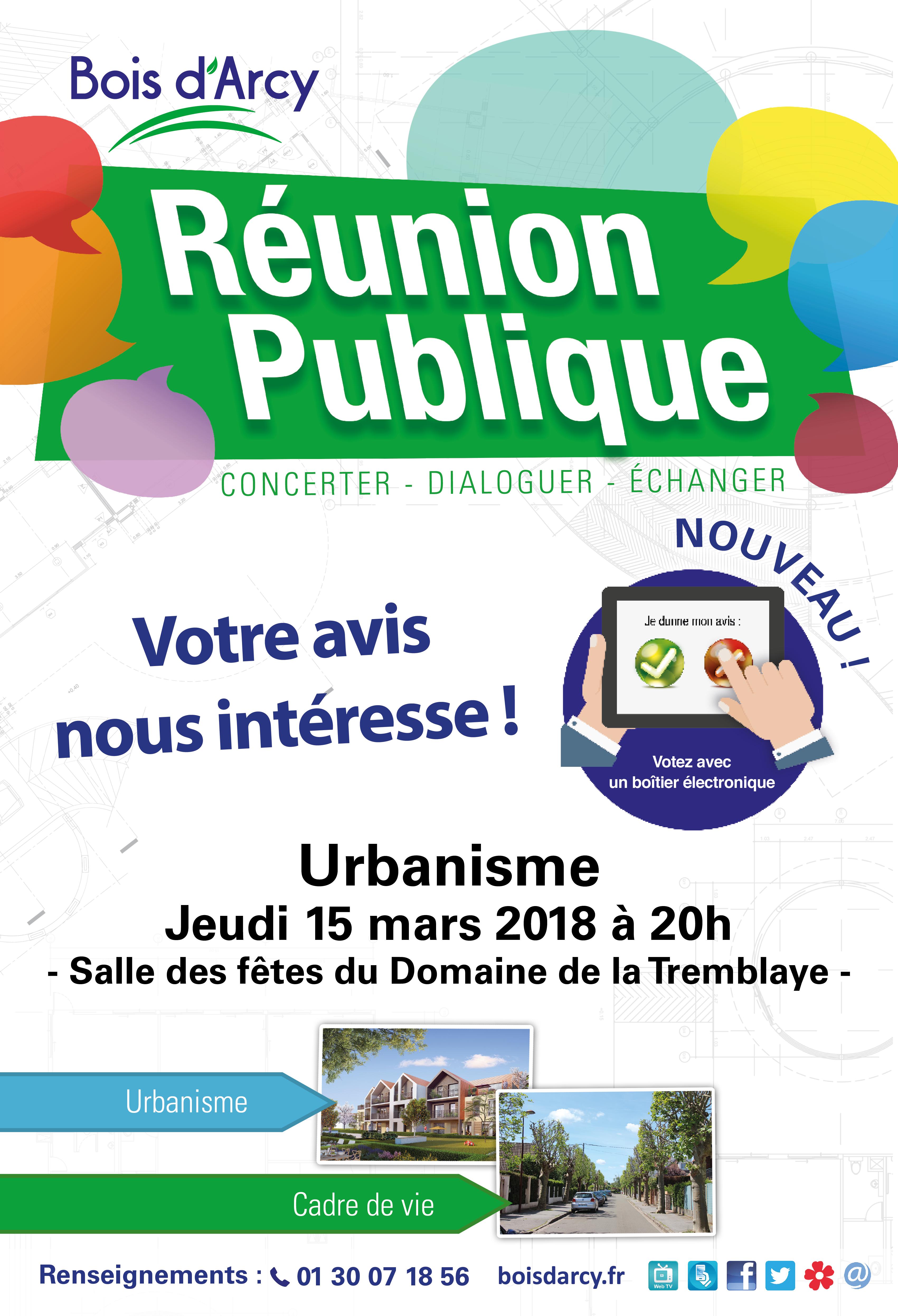 5ae35ad2949 La grande réunion publique de concertation sur l Urbanisme à Bois d Arcy a  eu lieu le jeudi 15 mars 2018. Les principales orientations de  développement et ...